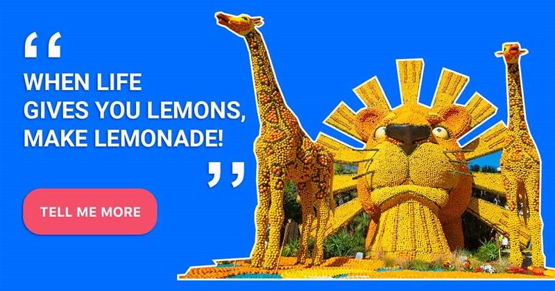 Geography Story: Menton lemon festival - 15 days in the fantasy world