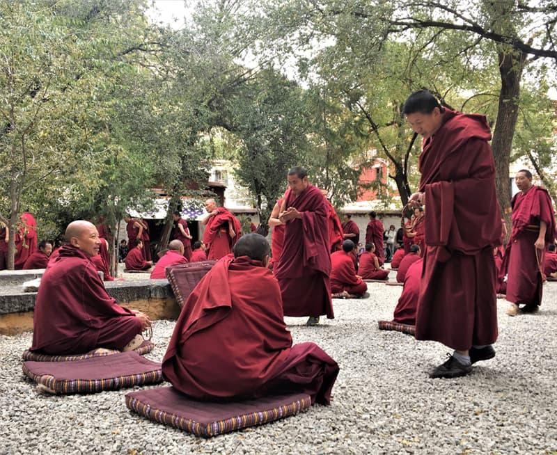 Geography Story: #4 Buddhist monks at Sera Monastery