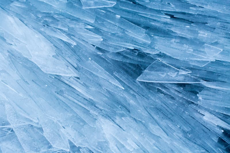 Geography Story: #1 Ice shards on a lake