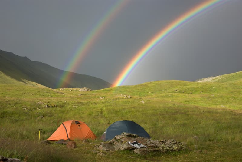 Geography Story: #4 Double rainbow