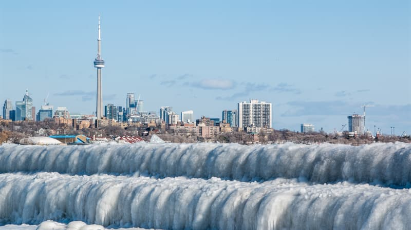 Geography Story: #7 Toronto ice waves