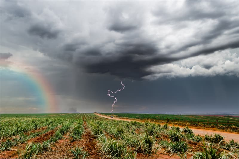 Geography Story: #9 Rainbow and lighting