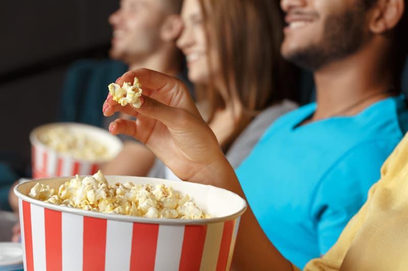 Society Story: #2 Popcorn in the cinema