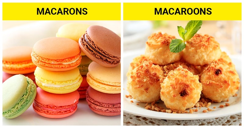 knowledge Story: The difference between macaroons and macarons