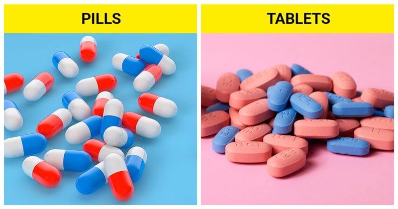 knowledge Story: The difference between pills and tablets