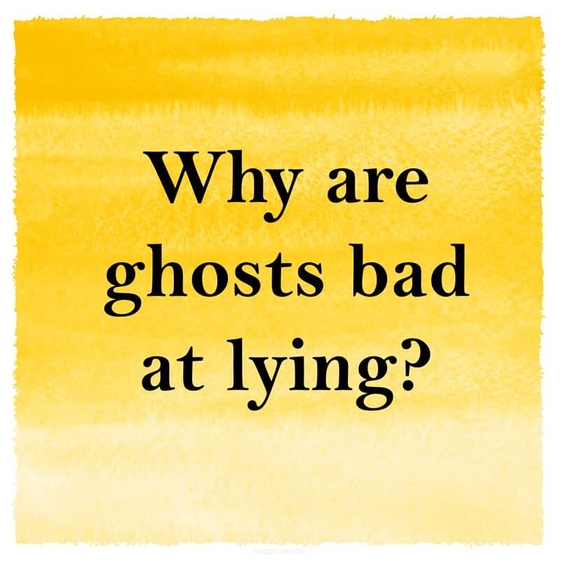IQ Story: Funny riddle about ghosts