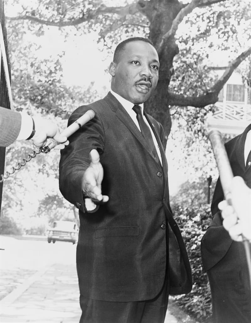 History Story: #3 Spreading his words of wisdom, Martin Luther King Jr. covered the distance of more than 6 million miles
