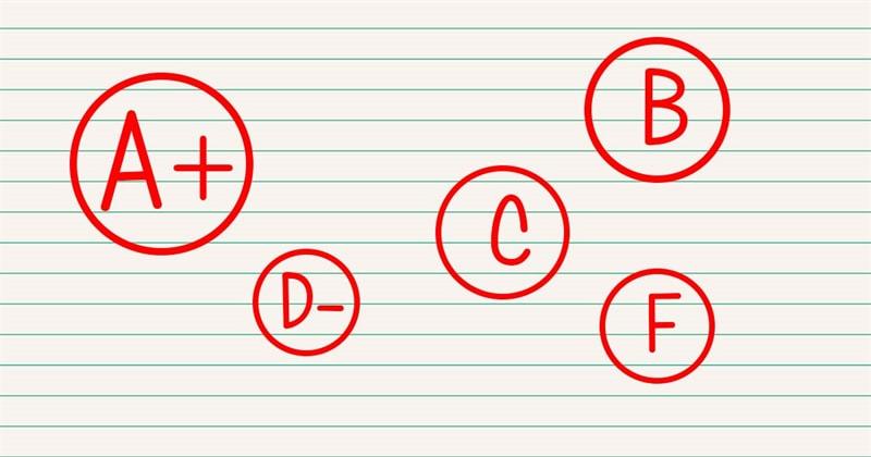 Society Story: Grading system marks