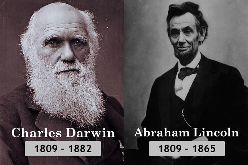 History Story: Unlikely historical contemporaries: Charles Darwin and Abraham Lincoln