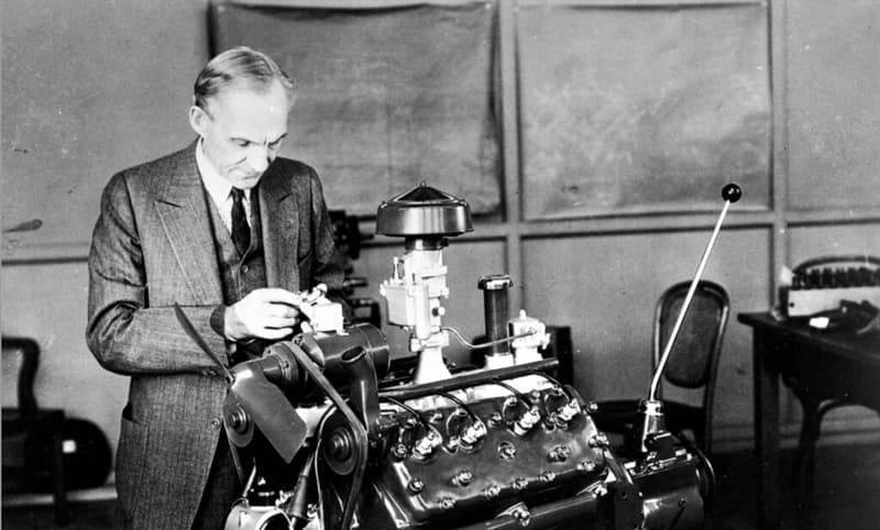 Society Story: Henry Ford stories of people who became millionaires