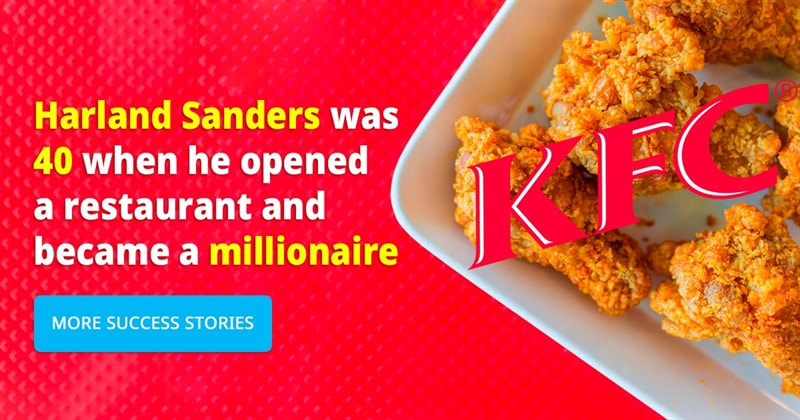 Society Story: 6 stories of people who became millionaires after 45