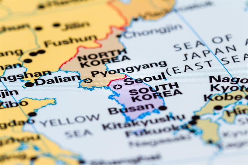 Geography Story: Interesting facts about north korea North Korea's leader  Republic of Korea Asia online quizzes tests trivia questions