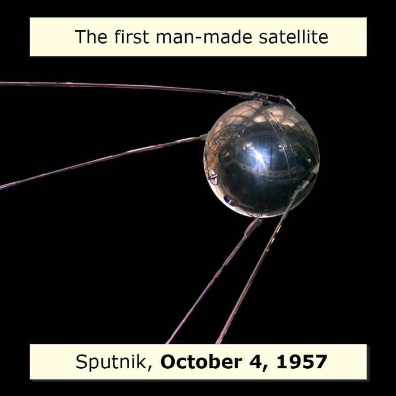 Science Story: Space firsts list the first satellite