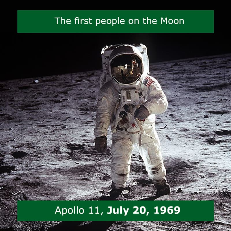 Science Story: The first man on the Moon 1969