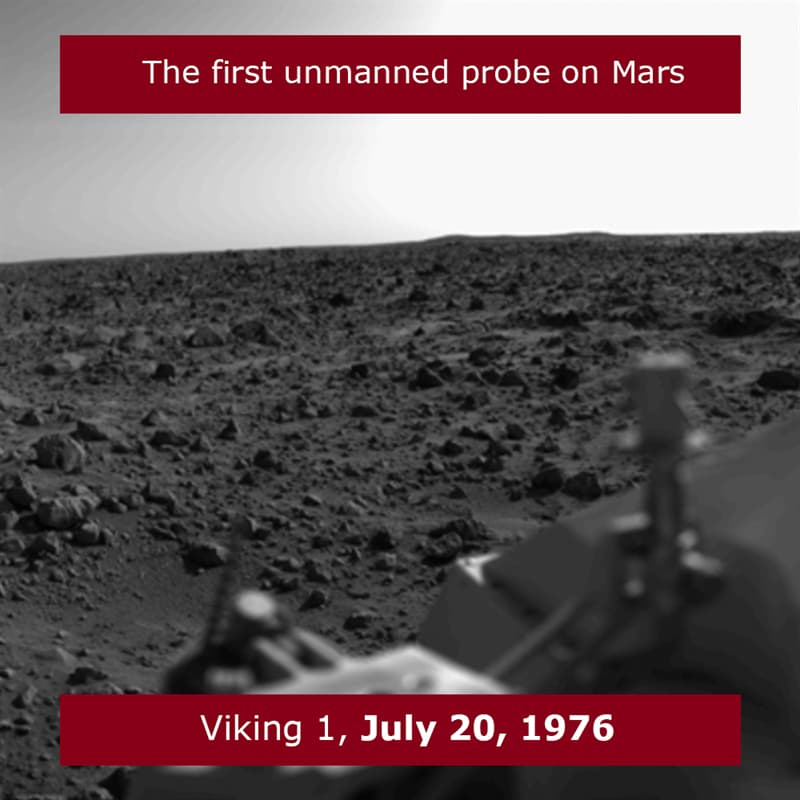 Science Story: The first Mars landing