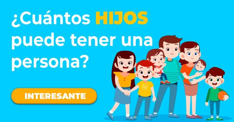 Сiencia Historia: ¿Cuántos hijos puede tener una persona?