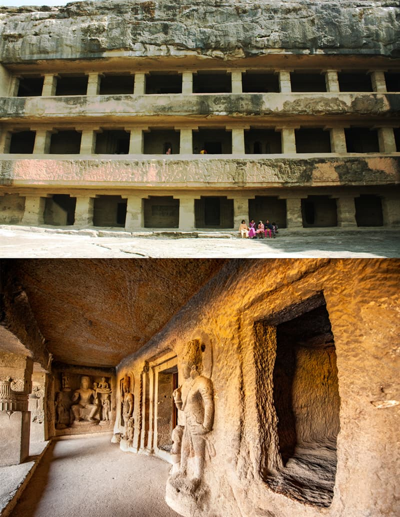 Geography Story: Ellora caves Buddhist
