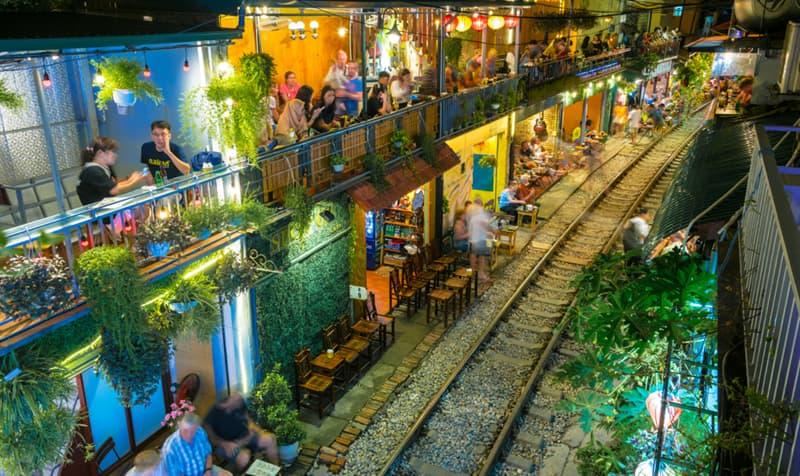 Geography Story: Train Street Hanoi