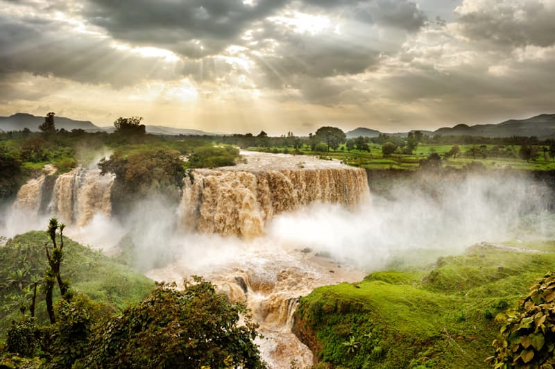 Geography Story: Blue Nile Falls
