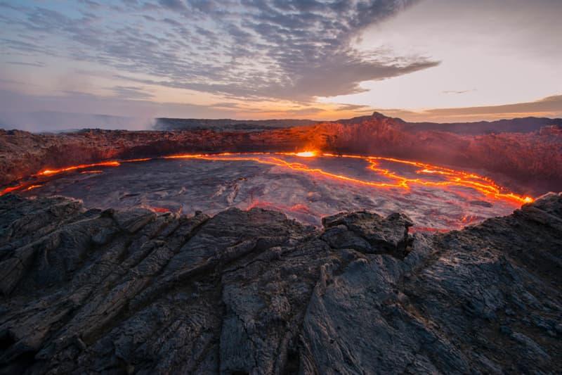 Geography Story: Ertale volcano Ethiopia