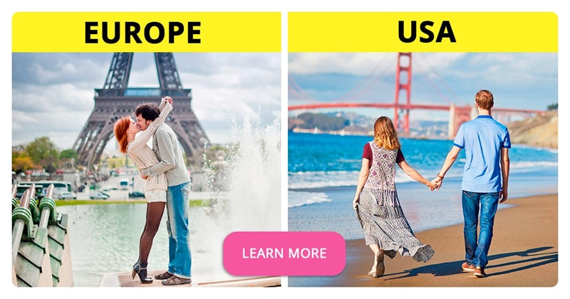 Geography Story: What are some real cultural differences between Europe and the USA?