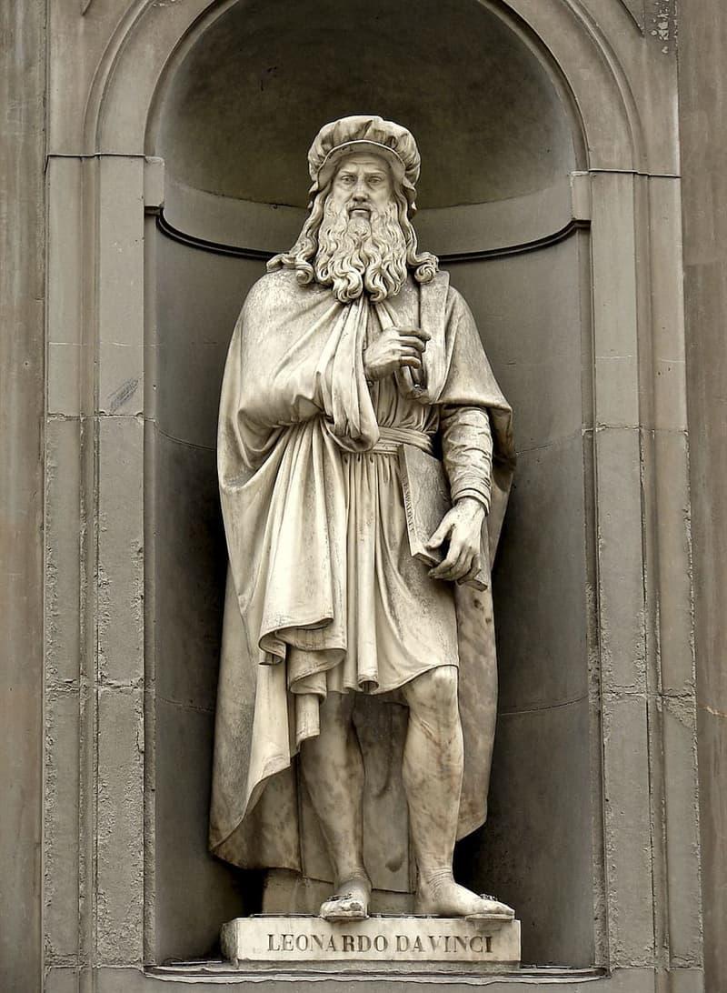 Culture Story: Statue of Leonardo Da Vinci