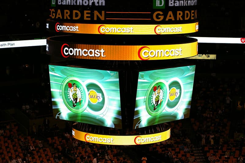 History Story: Boston Celtics NBA - Celtics home arena