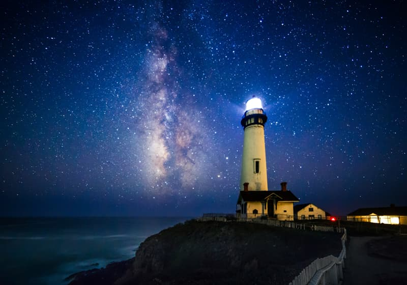 Nature Story: Pictures of starry night