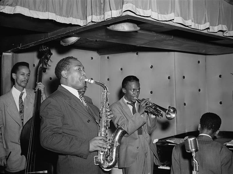 Culture Story: Bebop Charlie Parker Dizzy Gillespie brief history of jazz music