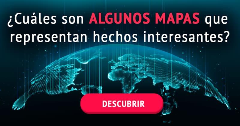 Geografía Historia: ¿Cuáles son algunos mapas que representan hechos interesantes?