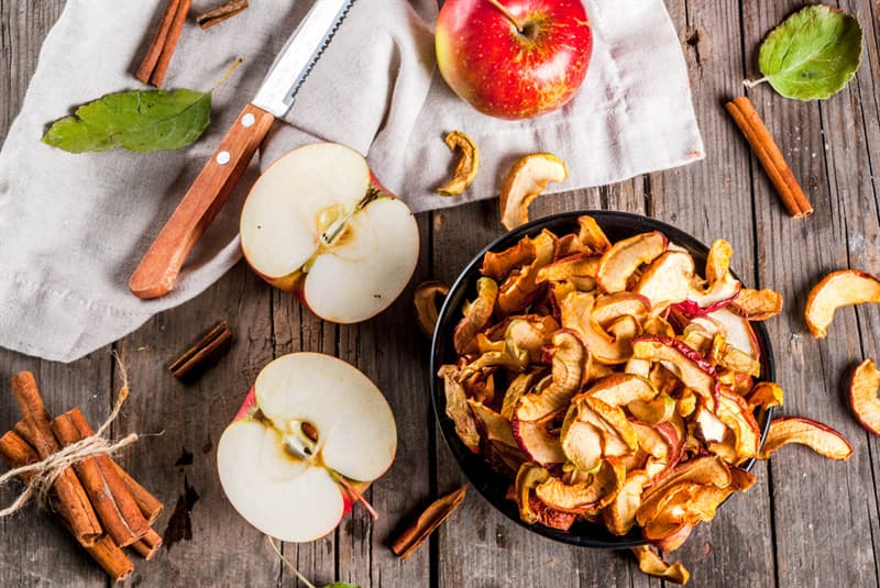 knowledge Story: how to store apples - food storage