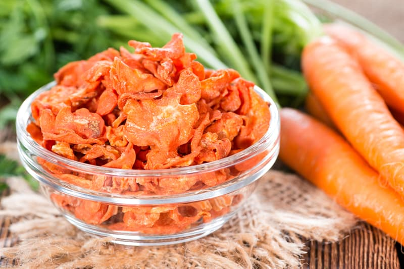knowledge Story: how to store carrot - food storage