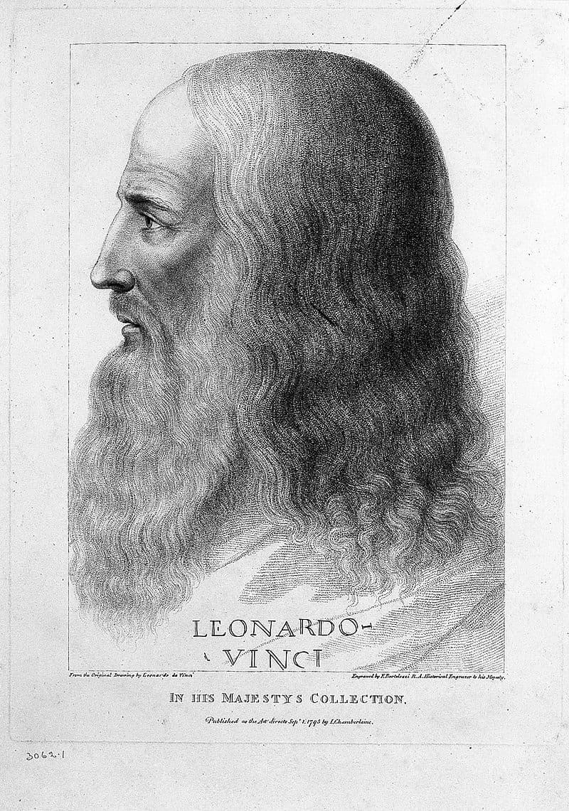 History Story: Famous illegitimate children Leonardo da Vinci