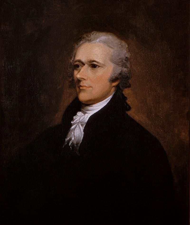 History Story: Famous illegitimate children Alexander Hamilton