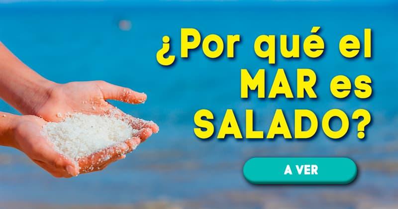Geografía Historia: ¿Por qué el mar es salado?