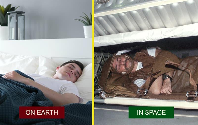 Science Story: How do astronauts sleep?