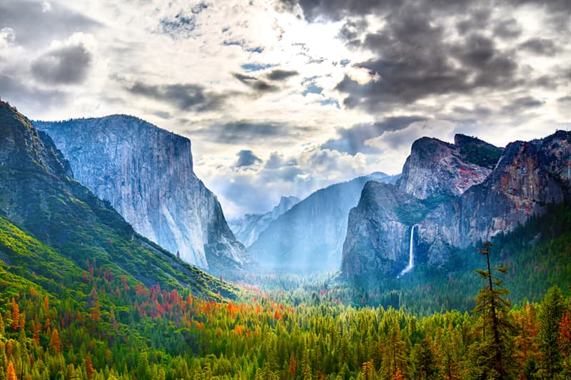 Geography Story: National parks in USA