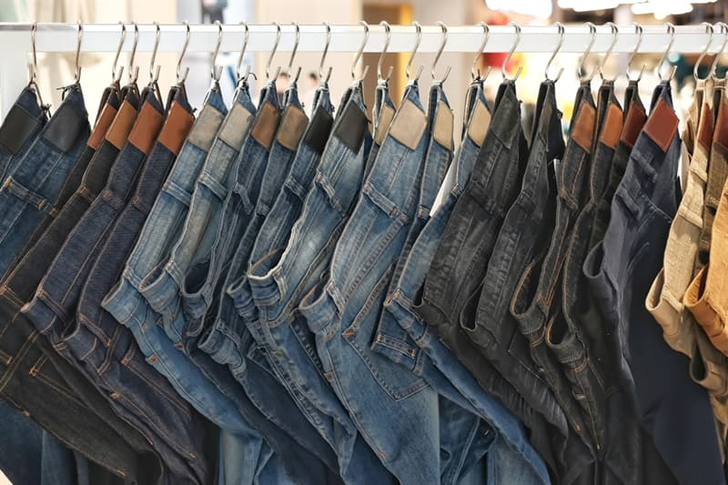 Society Story: pair of jeans - blue jeans -history of jeans