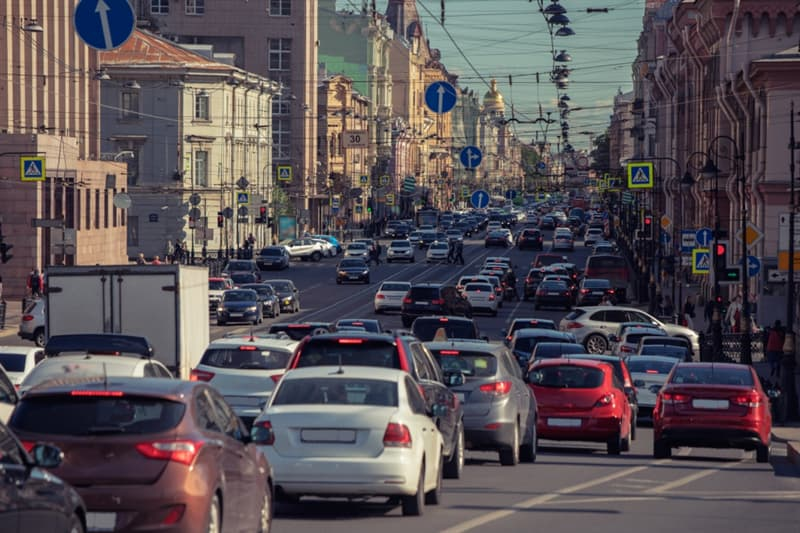 Geography Story: major noise polluter Saint Petersburg Russia culture tourism