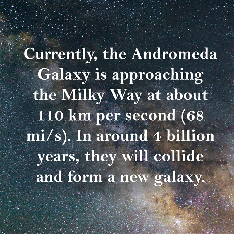 Science Story: what will happen when the milky way and andromeda collide