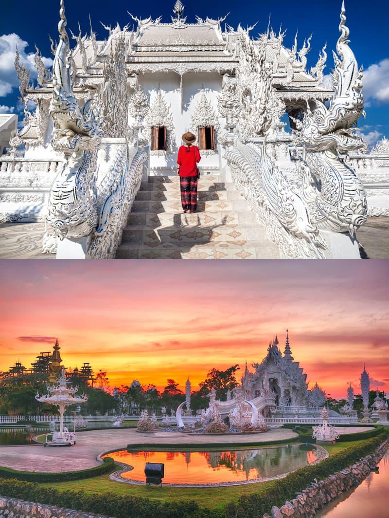 Geography Story: #2 Wat Rong Khun, Thailand