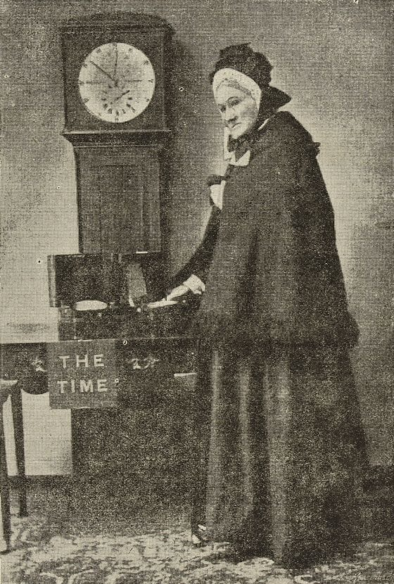 History Story: The seller of the time Ruth Belville Greenwich Time Lady weird Wikipedia articles