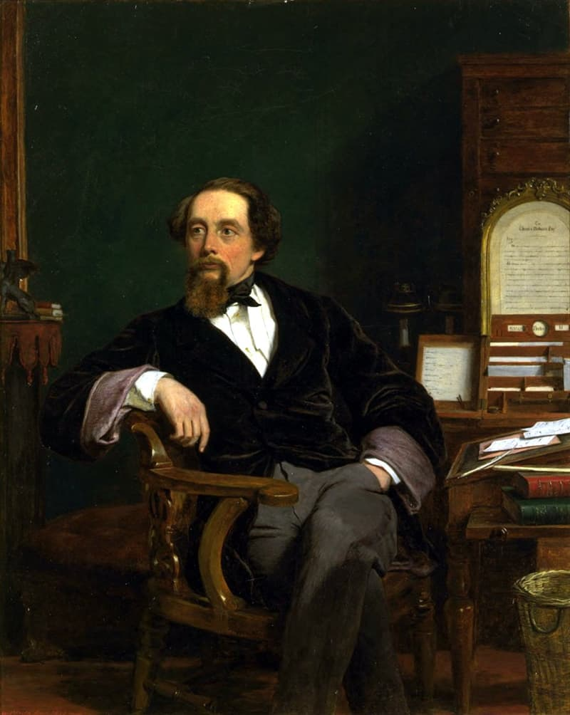 Culture Story: obsessive-compulsive disorder Charles Dickens biography interesting facts