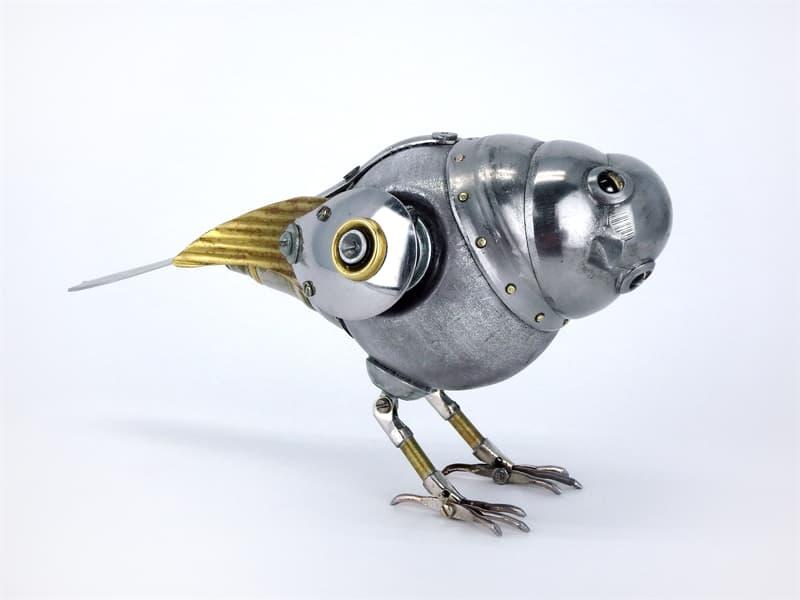 animals Story: steampunk artwork -steampunk style - steampunk bird
