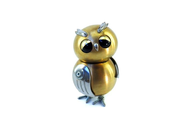 animals Story: steampunk animal sculptures - steampunk artwork - steampunk owl