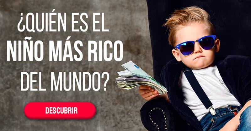 Sociedad Historia: ¿Quién es el niño más rico del mundo?