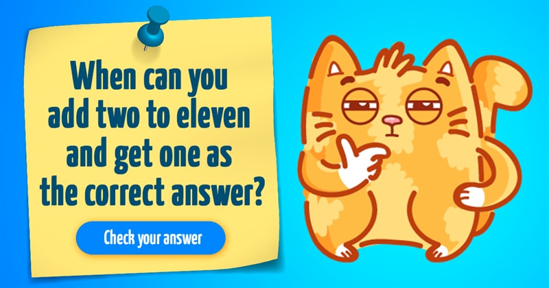 IQ Story: 10 funny riddles to solve when bored