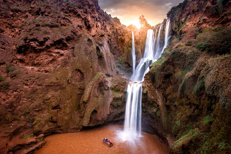 Geography Story: Ouzoud Waterfall, Morocco facts about waterfalls most beautiful waterfalls in the world