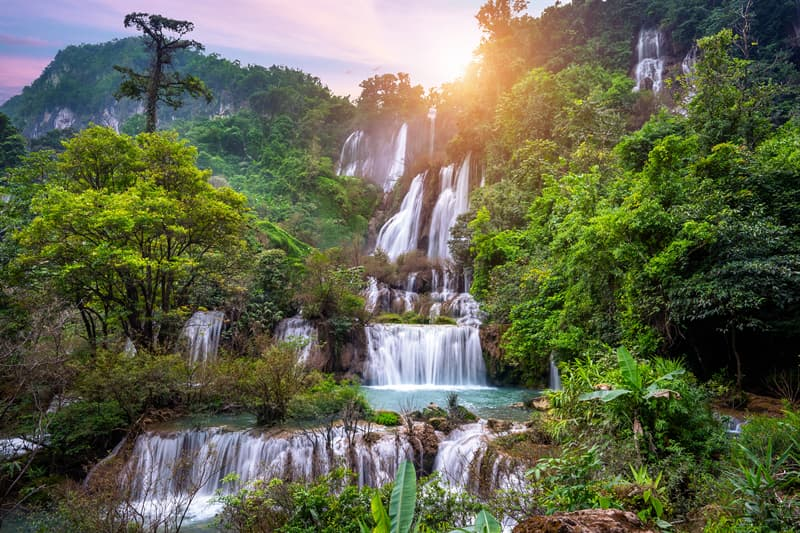 Geography Story: Thi Lor Su Waterfall, Thailand facts about waterfalls most beautiful waterfalls in the world