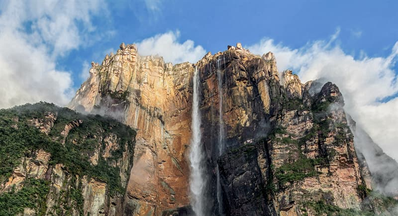 Geography Story: Angel Falls, Venezuela facts about waterfalls most beautiful waterfalls in the world